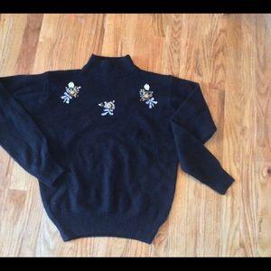 Sweaters - Vintage sweater Sz L mock neck